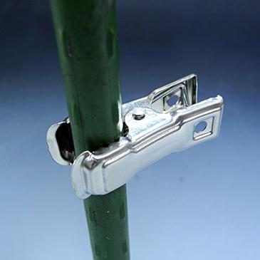 「ステンレス園芸ピンチ」は、尺取り虫の代わりに…5.5mm~11mm支柱まで